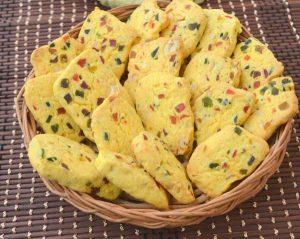 Karachi Biscuits Eggless Tutti Frutti Cookies