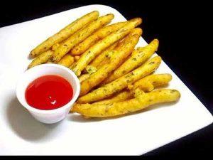 Potato Rava Fingers Recipe