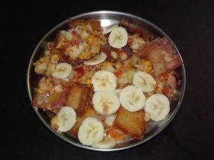 Bread Papdi Chaat