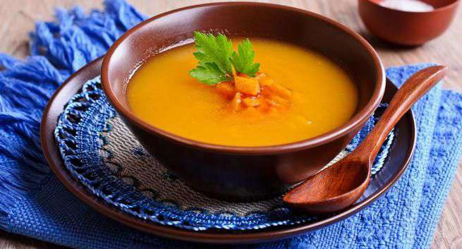 Ginger and Carrot Soup recipe