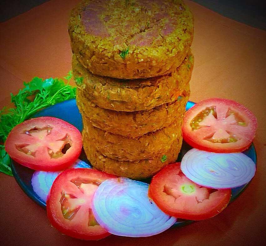वेज में एक बहुत ही ज़बरदस्त रेसिपी आप भी चखे इसका स्वाद Kala Chana Kabab