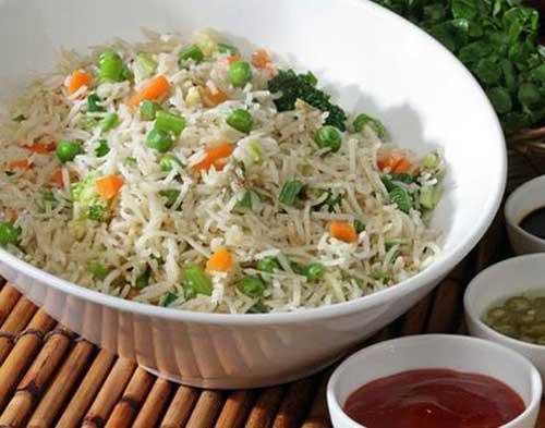 Zero Oil Fry Rice