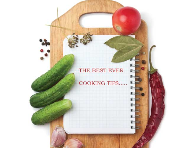 best ever cooking tips