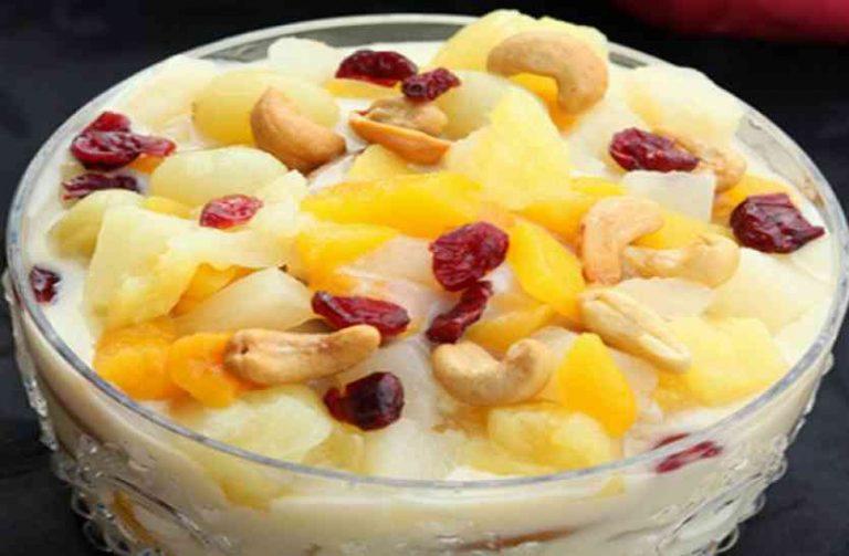 chiku vanilla pudding