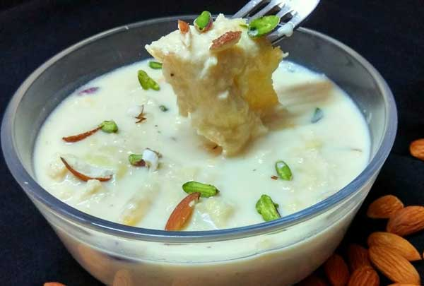 लच्छेदार रबड़ी रेसिपी Rabri Recipe in Hindi