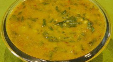मसूर की दाल में एक चीज़ मिलाकर बनाएं ये मजेदार डिश Dal Palak Recipe