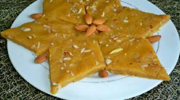 रेस्टोरेंट स्टाइल में बनाये काबुली चने का स्वादिष्ट हलवा Kabuli Chane Ka Halwa