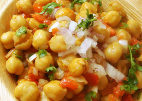 chickpeas chaat