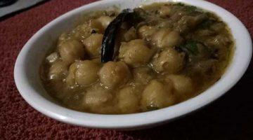 स्वादिष्ट सफेद छोले बनाने की आसान रेसिपी White Chhole Recipe In Hindi