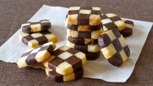 Checkerboard Cookies recipe