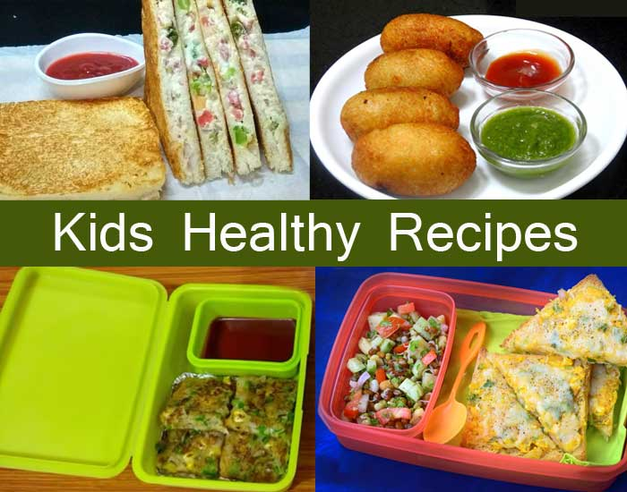 Kids Healthy Recipes.