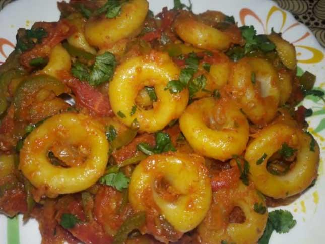 Semolina pasta