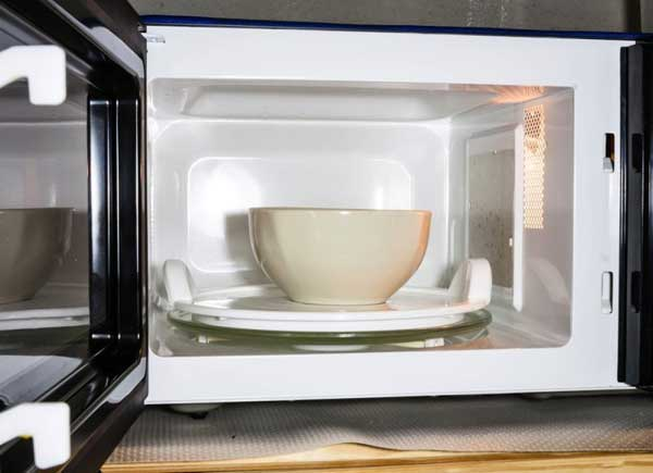 pasta in microwave