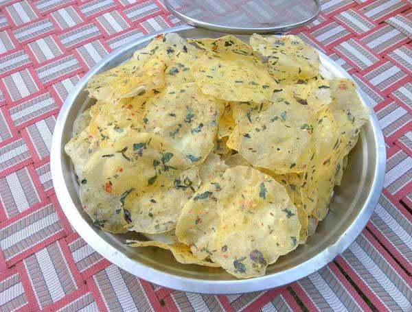 potato papad recipe in hindi