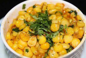 Butter masala sweet corn