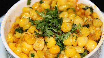 5 मिनट में बनाएं बटर मसाला स्वीट कॉर्न Butter Masala Sweet Corn Recipe