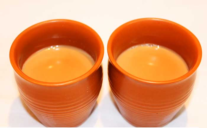 Milk powder tea recipe