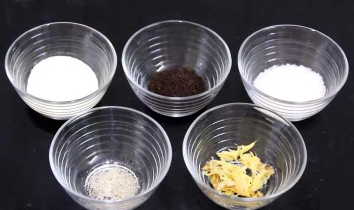 Milk powder tea