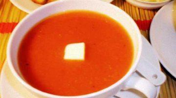 शिशु के लिए गाजर और टमाटर का सूप Tomato Soup Recipe For Baby in Hindi