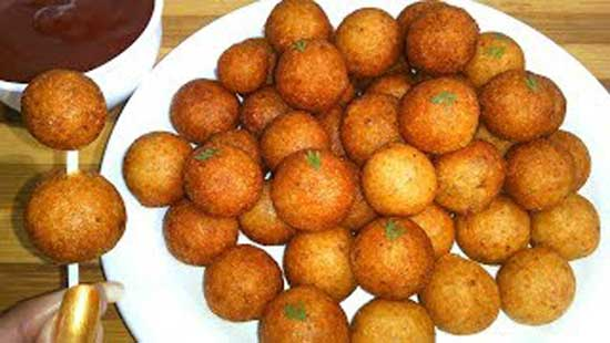 Potato bread balls