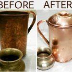 तांबे व पीतल के बर्तन चमकाने के जबरदस्त उपाय Simple Trick Clean Copper And Bronze
