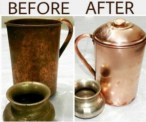 Simple trick clean copper and bronze