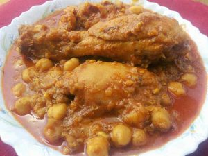 lahori murg choley