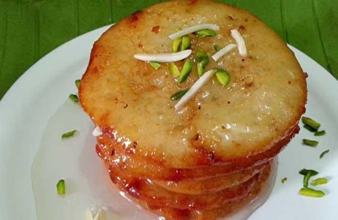 suji malpua recipe in hindi