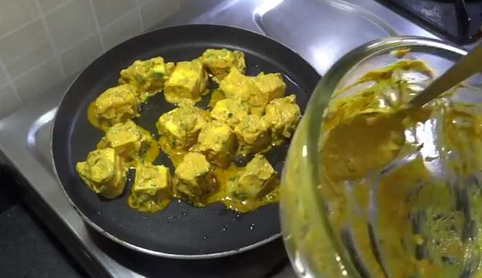 Tawa Paneer recipe in hindi