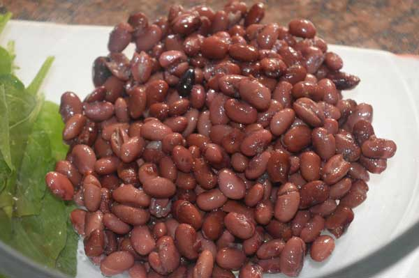 boiled rajma