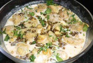 dahi phulki recipe