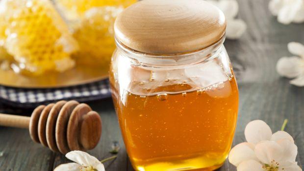 Raw honey,