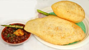 make instant bhature