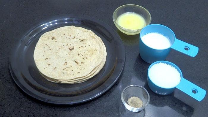 बची हुई बासी रोटी से बनाएं Tasty हलवा Basi Roti ka Halwa