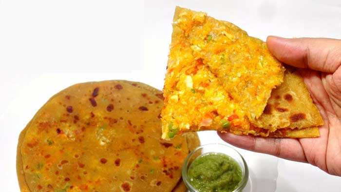 aflatoon paratha recipe