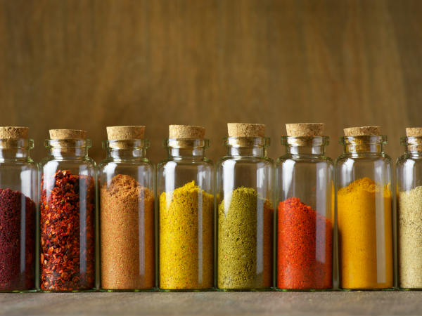 spices for jar