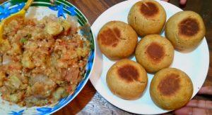 stuffed litti chokha recipe in hindi