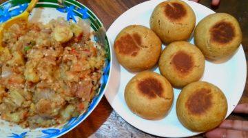 कुकर में बनाएं भरवां लिट्टी चोखा Litti Chokha Recipe in Hindi