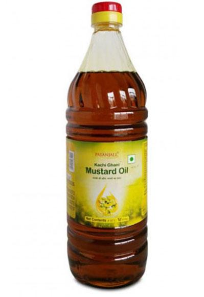 Black Mustard Oil = काली सरसों का तेल