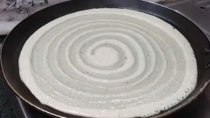 Instant Aata Dosa Recipe