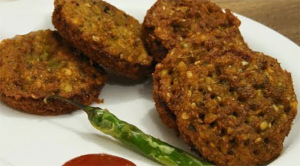 Moong Bread Vada recipe