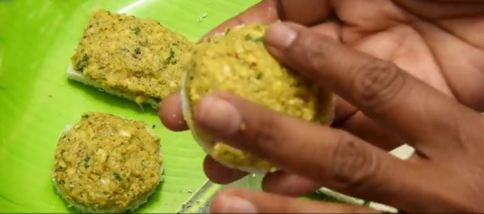 Moong Bread Vada