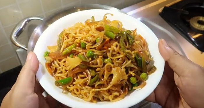 crispy fried maggi recipe