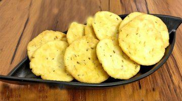 खस्ता कुरकुरी स्वादिष्ट गुजराती फरसी पूरी Farsi Puri Recipe