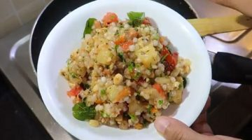 कई फ्लेवर वाली तीखी चटपटी साबूदाना खिचड़ी  Navratri recipe