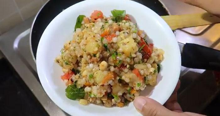Sabudana Khichdi Navratri recip