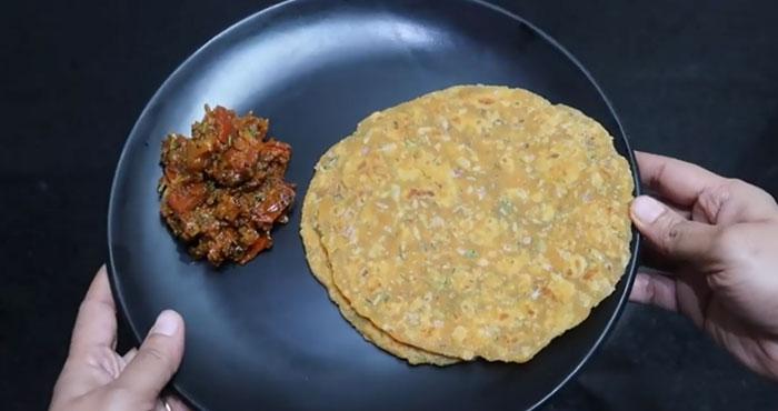 बच्चों के टिफिन के लिए टेस्टी पराठा Suji Paneer Paratha Recipe