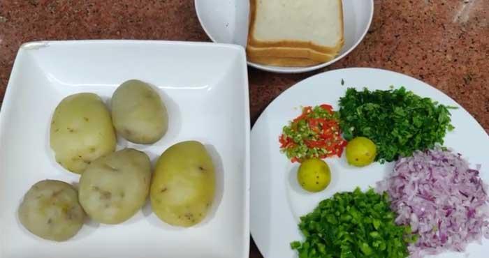 Aloo kabab ingredients