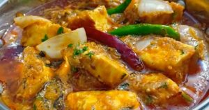 Restaurant Style Paneer Do Pyaza
