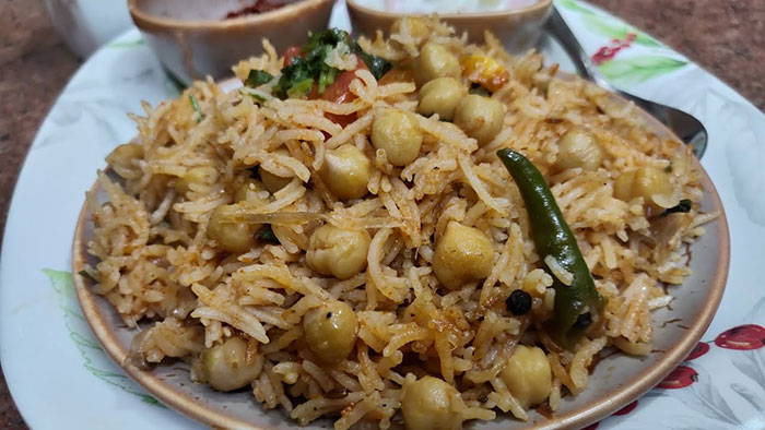 kabuli chana pulao recipe in hindi